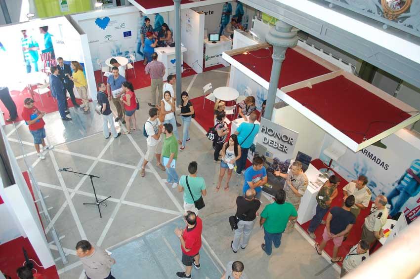 Feria de Empleo - Vista general