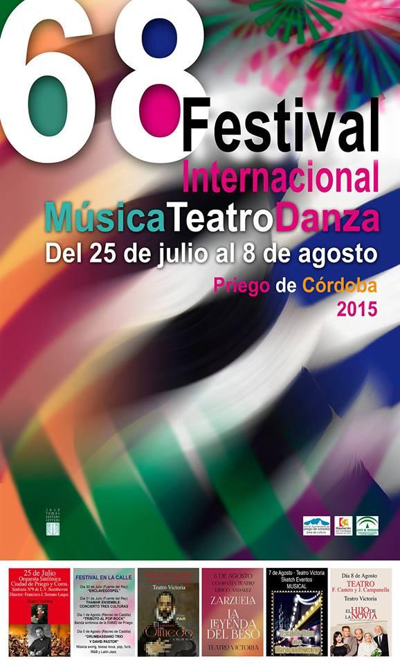 68 Festival Internacional de Música, Teatro y Danza de Priego de Córdoba