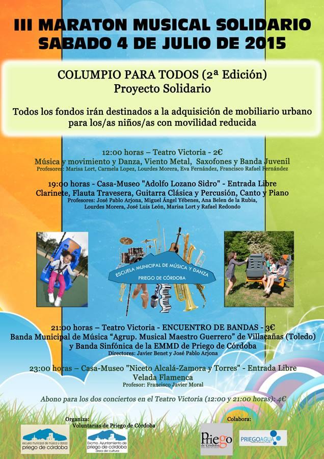 III Maratón Musical Solidario