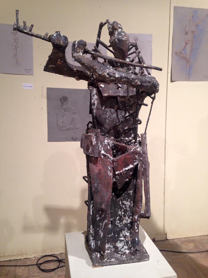 Homenaje a la Música - Escultura de Venancio Blanco