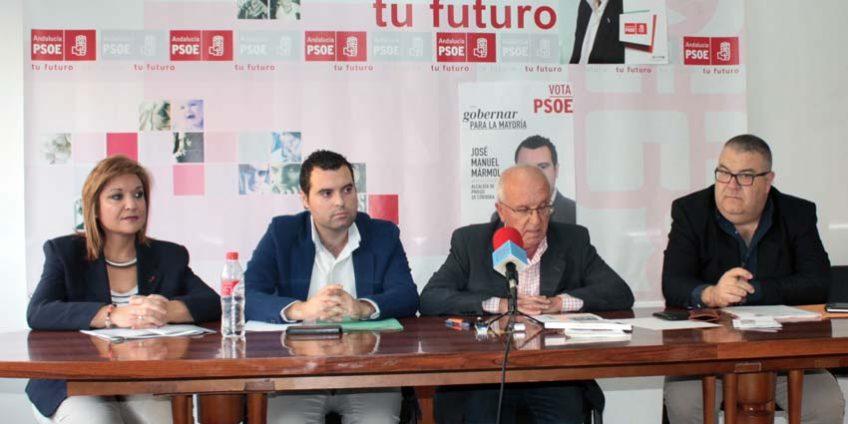 Rueda de prensa PSOE Priego