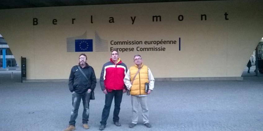 Priego Agua y Desarrollo - Viaje a Bruselas