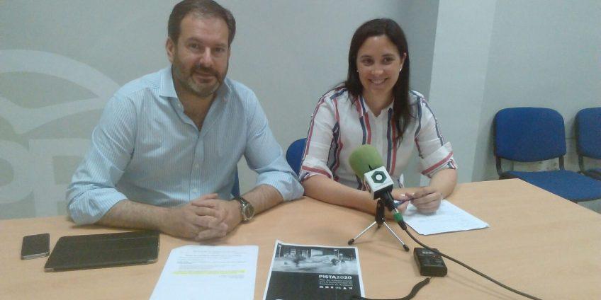 Cristina Casanueva y Adolfo MolinaMiguel Muñiz