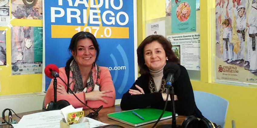 Ana Rogel en Radio Priego