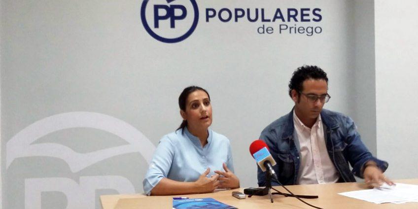 Beatriz Jurado y Sergio Fornieles