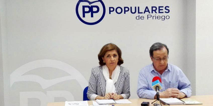Maria Jesús Botella y Migue Forcada