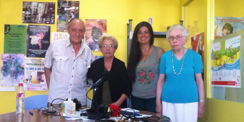 Carmela Millán en Radio Priego