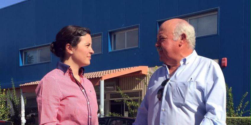 Cristina Casanueva y Jesús Aguirre