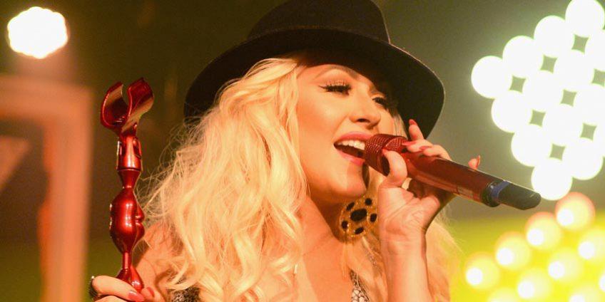 Christina Aguilera en Ruta 789