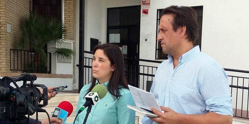Cristina Casanueva y Javier Ibáñez