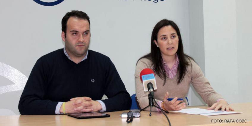Cristina Casanueva y Juan Ramón Valdivia