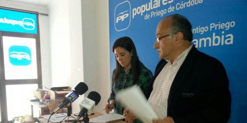 Cristina Casanueva y Miguel Ángel Serrano