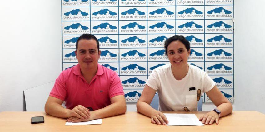 Cristina Casanueva y Miguel Ángel Valdivia