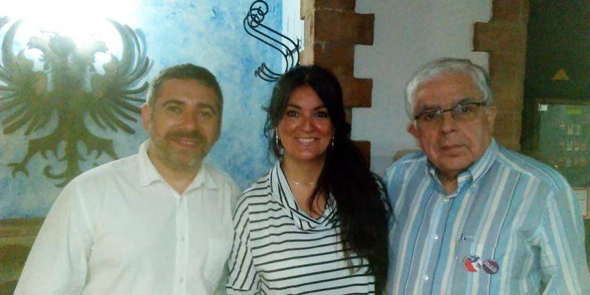 Javier Couso y Danilo Aravena Ross