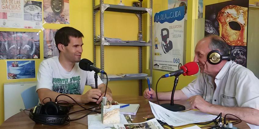 David López en Radio Priego