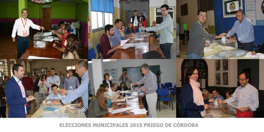 Elecciones Municipales 2015 Priego de Córdoba