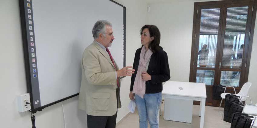 Ignacio Fernández de Mesa y María Luisa Ceballos