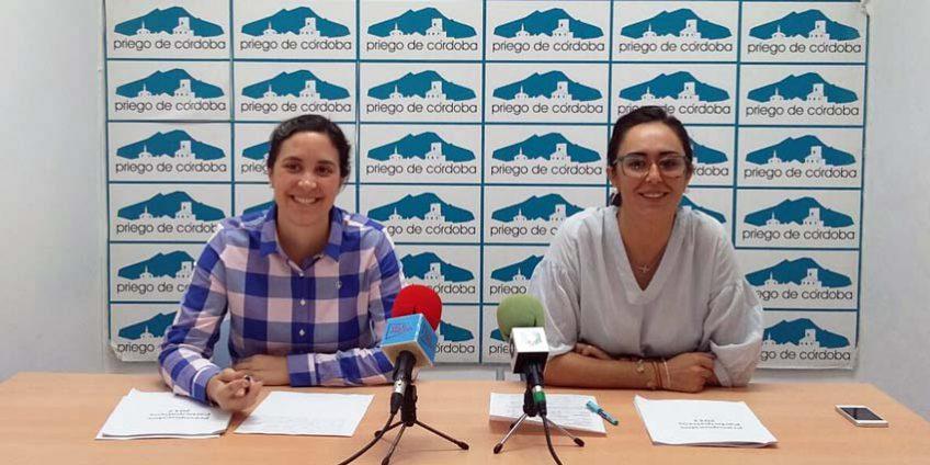 Inés Aguilera y Cristina Casanueva