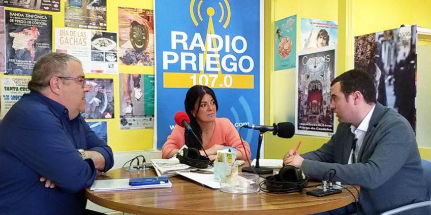José Manuel Mármol y Toni Musachs en Radio Priego