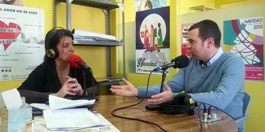 José Manuel Mármol en Radio Priego