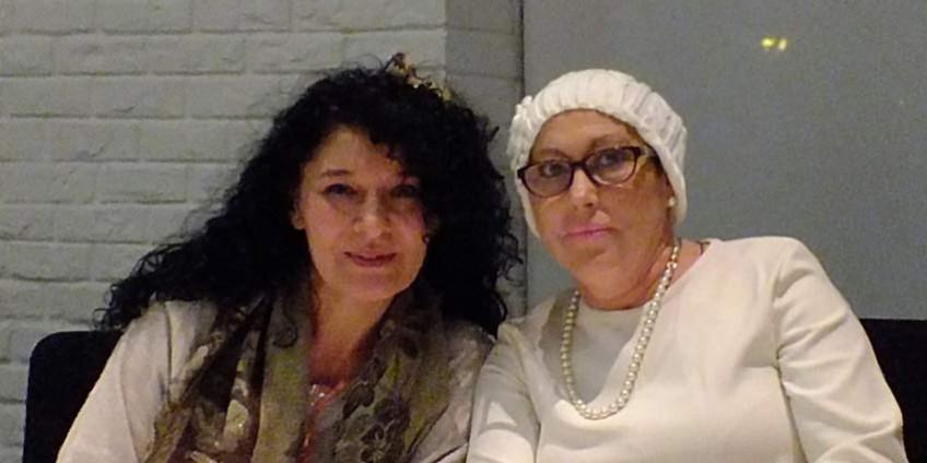 Laly Alcaide y Yolanda Palomo
