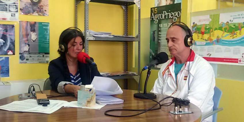 Luis Calvo en Radio Priego
