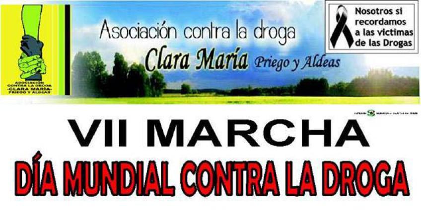 VII Marcha contra la droga Priego de Córdoba