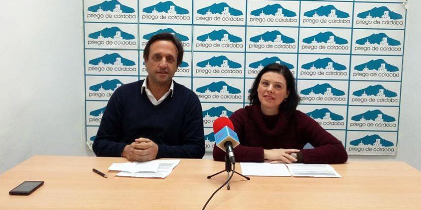 María del Carmen Pacheco y Javier Linares