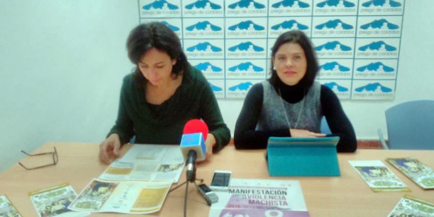 María Luisa Ceballos y María del Carmen Pacheco