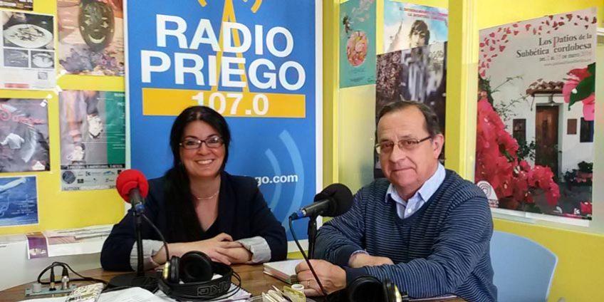 Miguel Forcada en Radio Priego