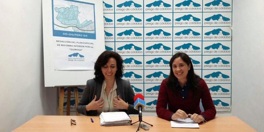 María Luisa Ceballos y Cristina Casanueva