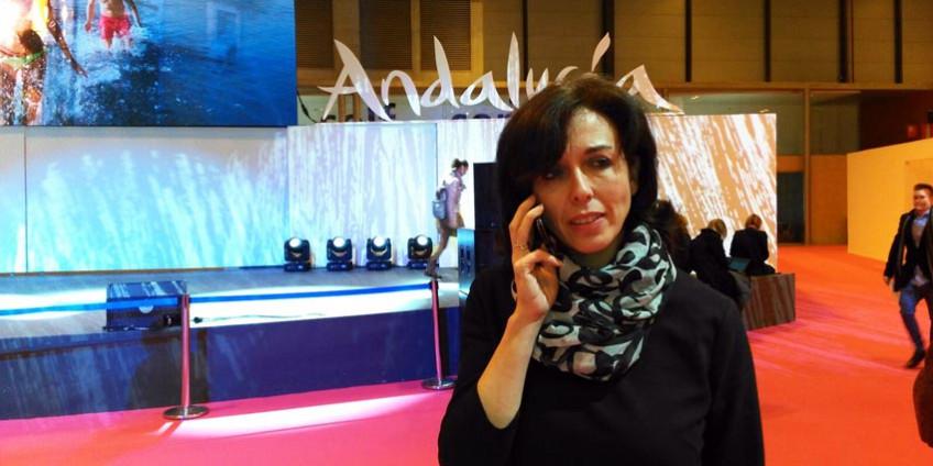 María Luisa Ceballos en FITUR 2016