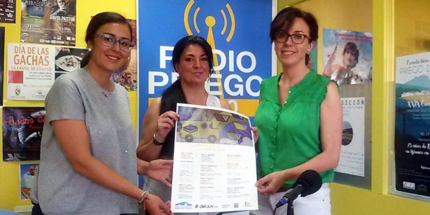 María Luisa Ceballos e Inés Aguilera