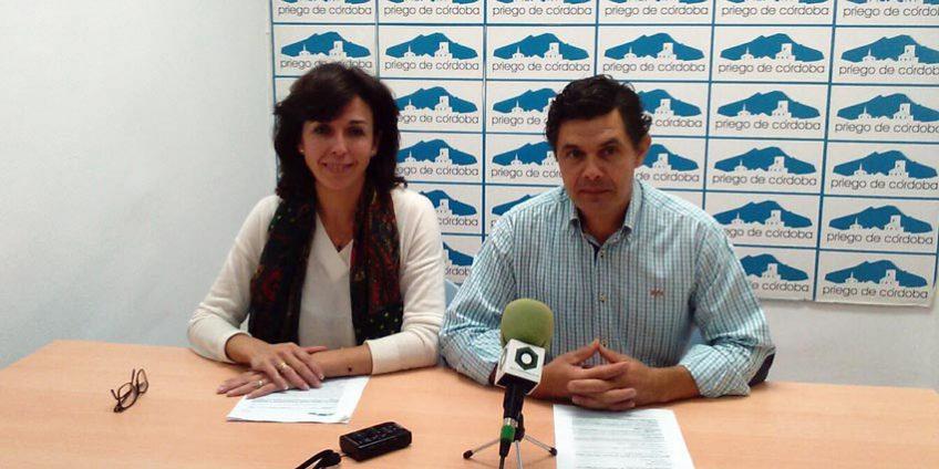 María Luisa Ceballos y Luis Miguel Carrillo