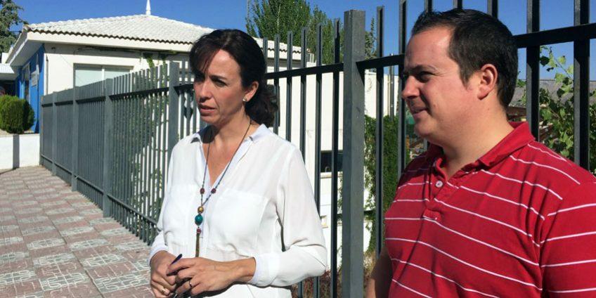 María Luisa Ceballos y Miguel Ángel Valdivia