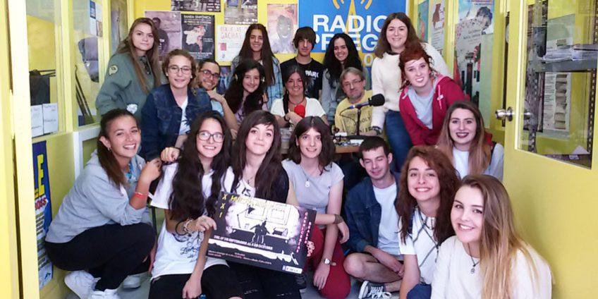Alumnos de Bachillerato del IES Álvarez Cubero