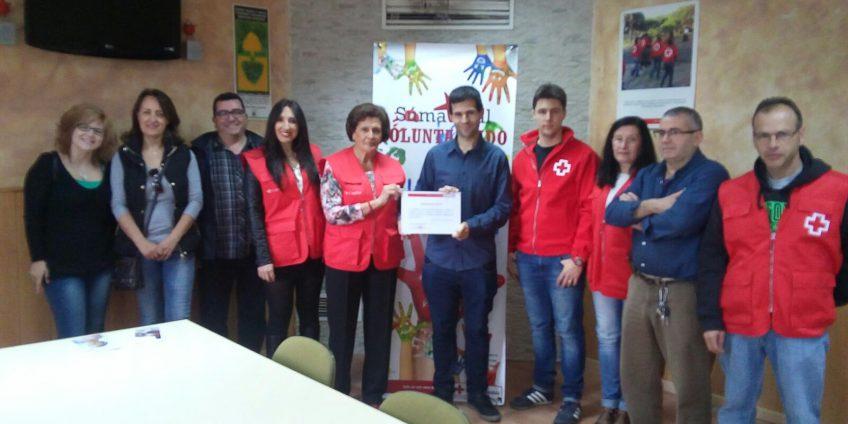 Participa Priego dona 500 euros a Cruz Roja