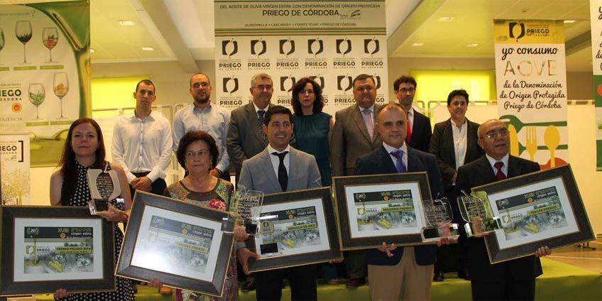Premiados D.O.P. Priego de Córdoba 2015