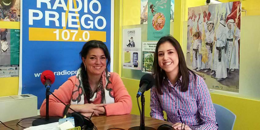 Rosaura Muñoz en Radio Priego