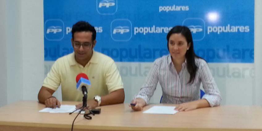 Cristina Casanueva y Sergio Fornieles
