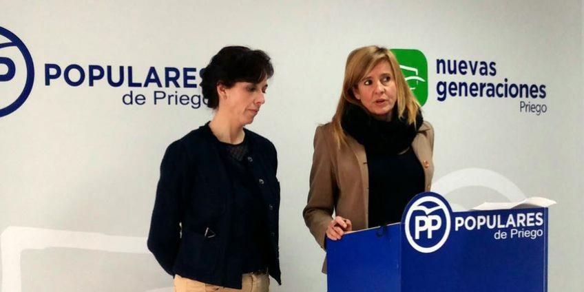 María Luisa Ceballos y Rosario Alarcón