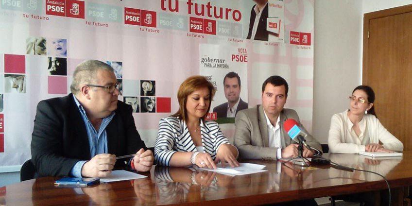 Rueda de Prensa PSOE Priego Feria San Marcos