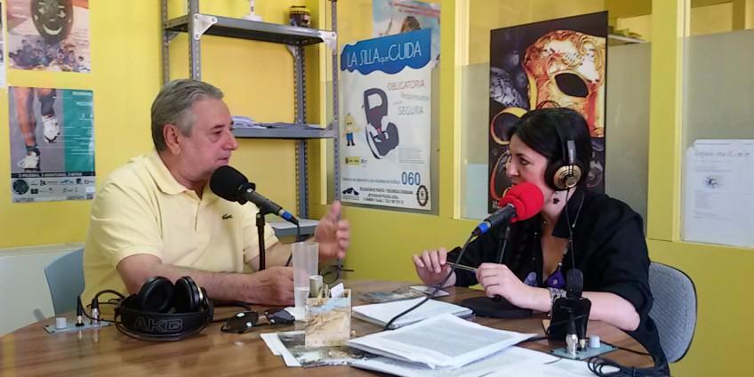 Joaquín Mansilla en Radio Priego